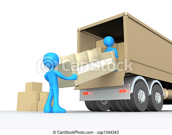 Moving Company - csp1344343