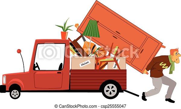 Moving - csp25555047