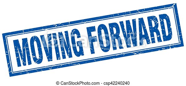 moving forward square stamp - csp42240240