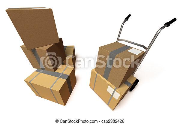 Moving - csp2382426