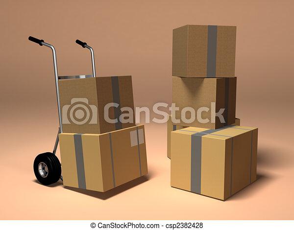 Moving - csp2382428