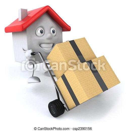 Moving - csp2390156