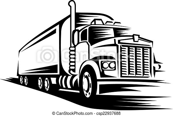 moving truck delivery truck moving on road for vector search rh canstockphoto com moving truck clip art images moving truck clip art images