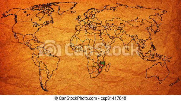 Mozambique territory on world map mozambique flag on old mozambique territory on world map stock illustration gumiabroncs Image collections