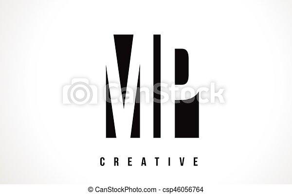 Mp m p white letter logo design with black square mp m p white mp m p white letter logo design with black square vector illustration template spiritdancerdesigns Images