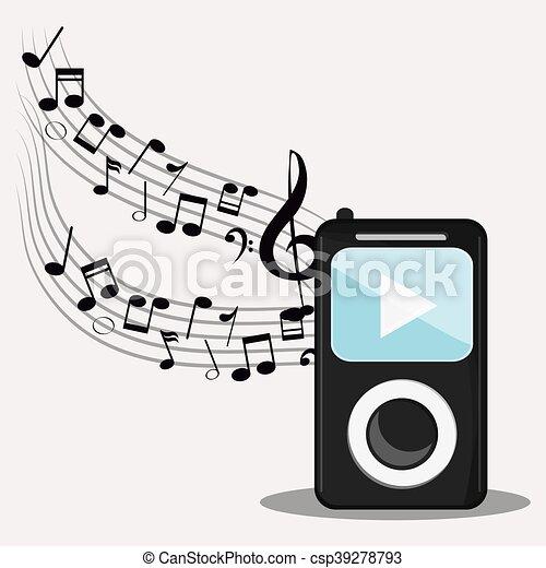 mp3 music note sound media festival icon