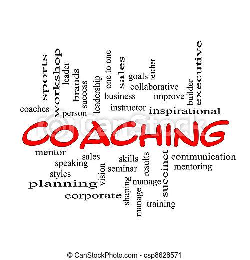 mračno, vzkaz, coaching, verzálky, červeň, klikyháky - csp8628571