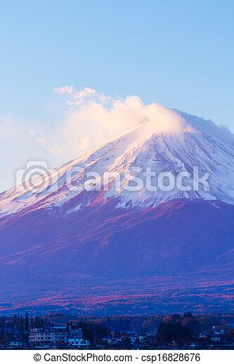 Mt. Fuji - csp16828676