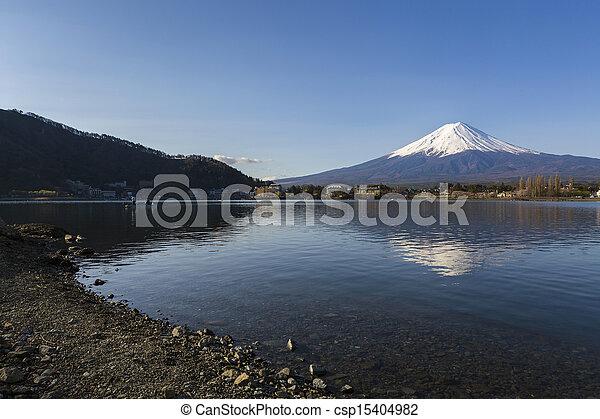 Mt Fuji - csp15404982