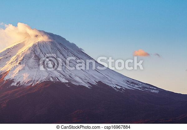 Mt. Fuji - csp16967884