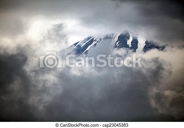 Mt Fuji - csp23045383