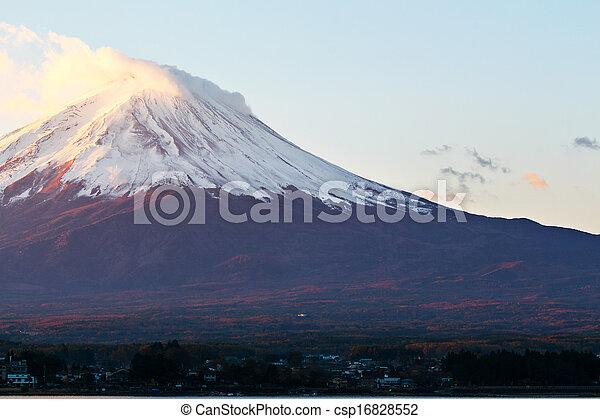 Mt. Fuji - csp16828552