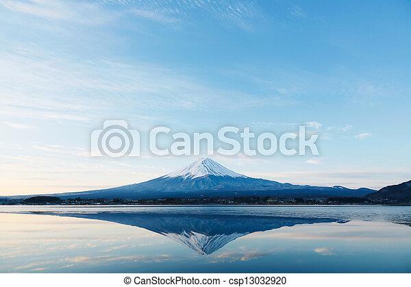 Mt Fuji - csp13032920