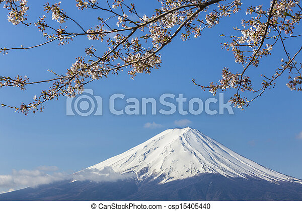 Mt Fuji - csp15405440