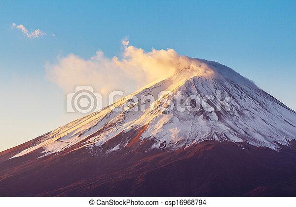 Mt. Fuji - csp16968794