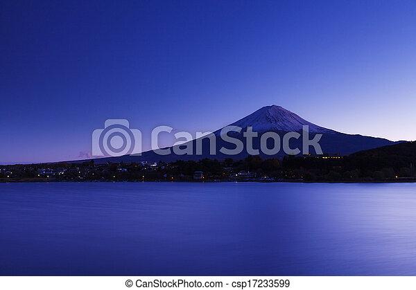 Mt. Fuji - csp17233599