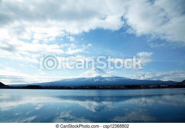 Mt Fuji - csp12368802