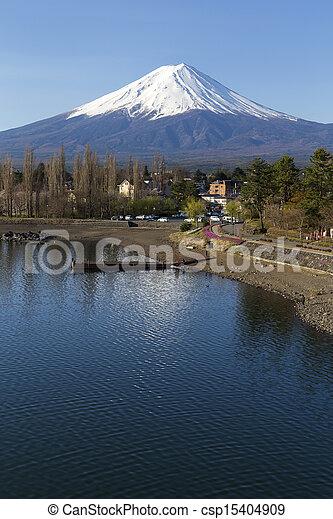 Mt Fuji - csp15404909