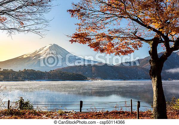 Mt Fuji Sunrise Lake Kawaguchiko