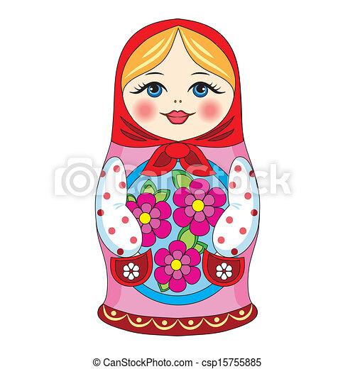 Muñeca rusa - csp15755885