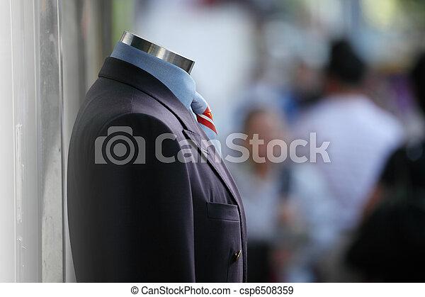 mužský, vystavit, kostým - csp6508359