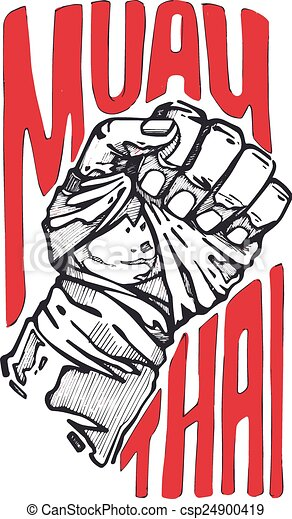hand drawn vector illustration or drawing of s fist with boxing logos designs boxing logos and drawings