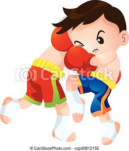 muaythai cute thai boxing kids fighting actions knee strike rh canstockphoto com  muay thai clipart
