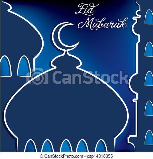 ¡Eid Mubarak! - csp14318355