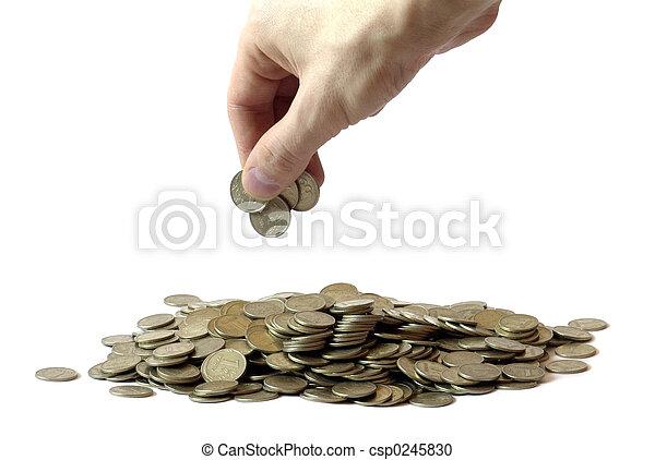 mucchi, soldi - csp0245830