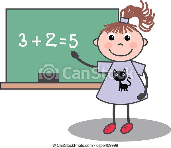 Chica de escuela - csp5409999