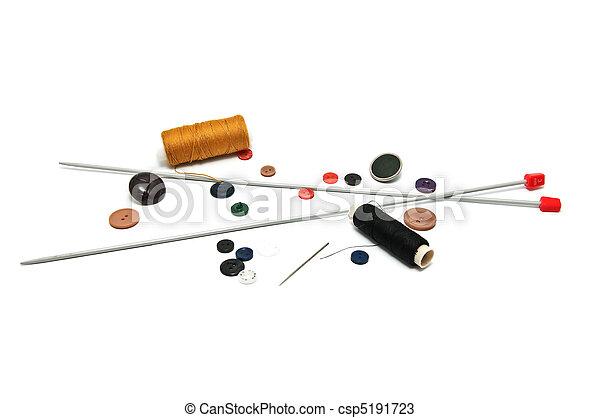 Muchas herramientas para la artesanía - csp5191723