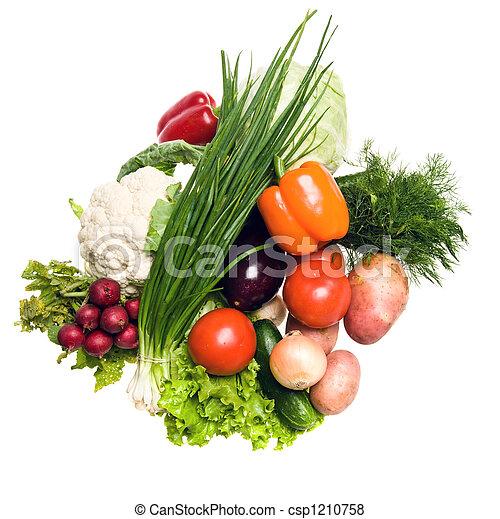 Muchas verduras - csp1210758