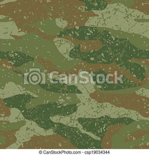 Mud camouflage. - csp19034344