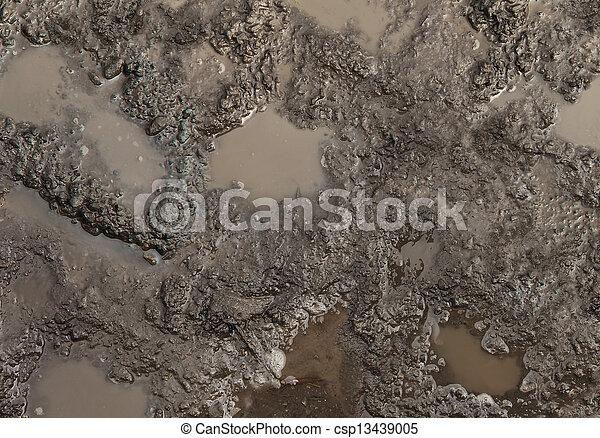 Mud Texture - csp13439005