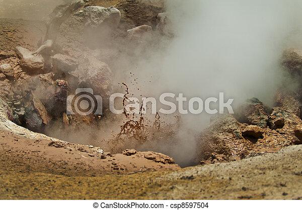 Mud Volcano - csp8597504