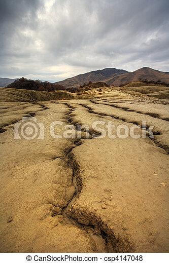 Muddy volcanoes from Romania - csp4147048
