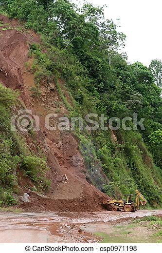 mudslide, ハイウェー - csp0971198