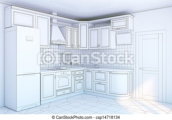 Dibujo De Cocinas. Cheap Elegant With Dibujos De Muebles De Cocina ...