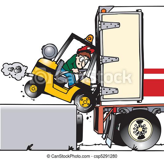 Placa de muelle de Forklift - csp5291280