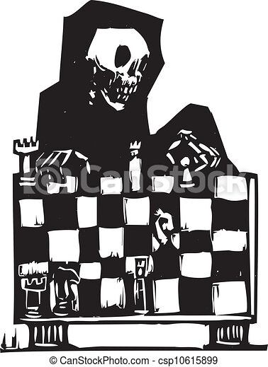 Ajedrez y muerte - csp10615899