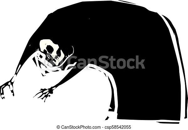 La muerte se extiende - csp58542055