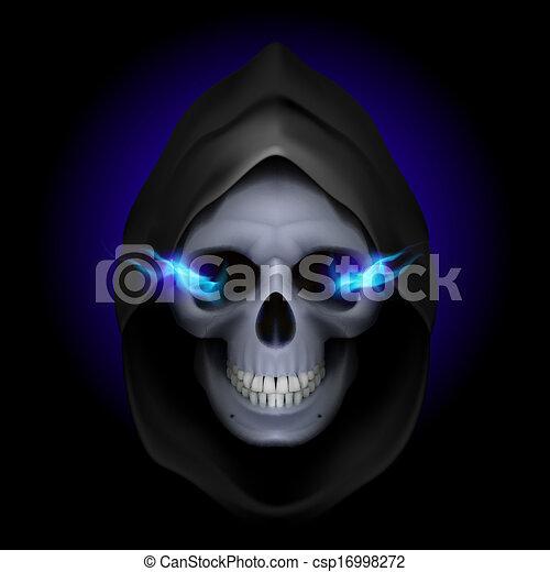 Imagen de muerte. - csp16998272