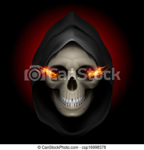 La imagen de la muerte. - csp16998378