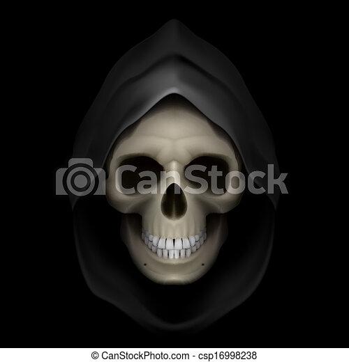 La imagen de la muerte. - csp16998238