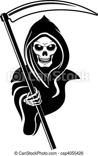 Signo de muerte - csp4055426