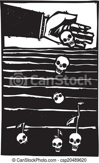 Semillas de la muerte - csp20489620