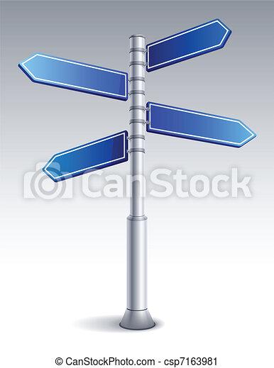 Signo de ruta - csp7163981