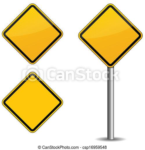 Signo de ruta - csp16959548