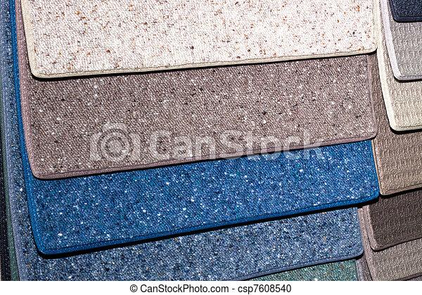 Muestras de alfombra - csp7608540