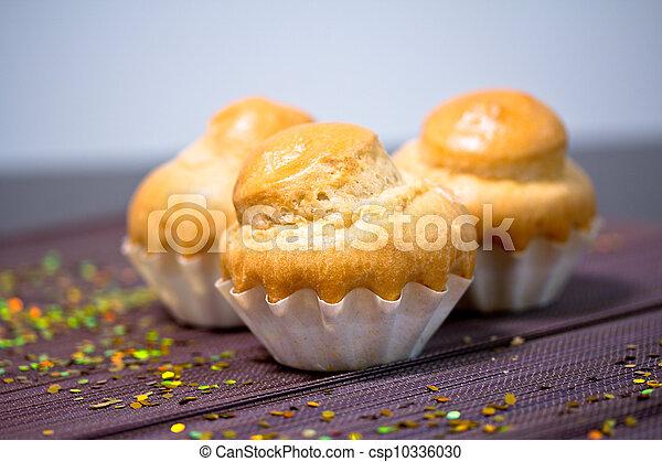 muffin, délicieux, boulangerie française - csp10336030